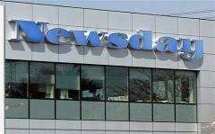 The Newsday headquarters are seen in Melville, New York