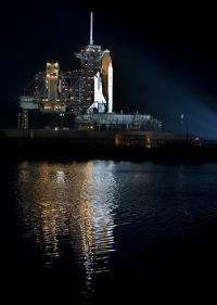 The US Space Shuttle Discovery