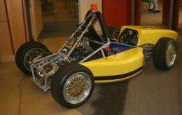 UCSD Engineering Students Drive Into the Future With Electric Racecar