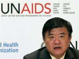 UNAIDS: Sex main cause for HIV spreading in China (AP)