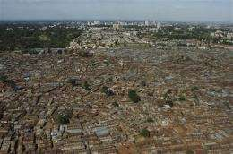 UN: Growth of slums boosting natural disaster risk (AP)
