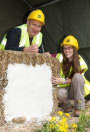 University has grand designs to build a house of straw