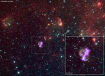 Unusual shape of exploded star puzzles scientists