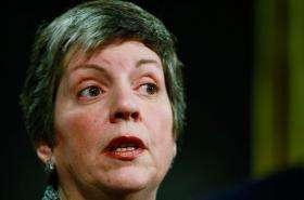 US Homeland Security Secretary Janet Napolitano