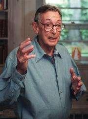 US pharmacologist Robert Furchgott