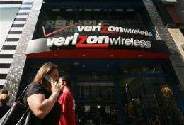 Verizon 1st-qtr profit, revenue beat expectations (AP)