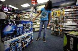 Video game sales improve slightly in September (AP)