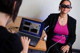 Virtual solution to driving phobias