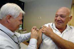 WHO: Pandemic flu vaccine production to fall short (AP)