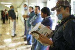 WHO worries Mexico flu deaths could mark pandemic (AP)
