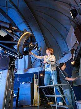 World's observatories watching 'cool' star