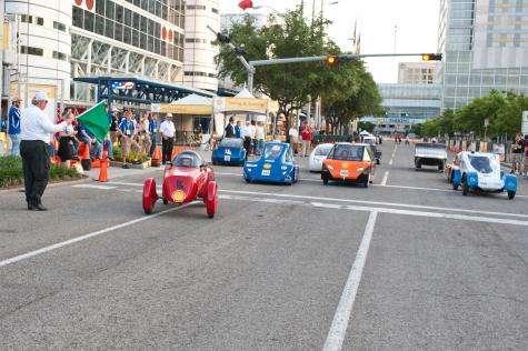 2,564 miles per gallon achieved at Shell Eco-marathon
