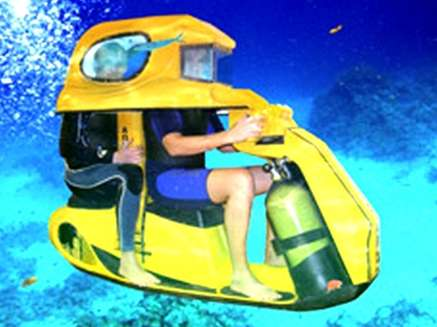 Aqua Star USA creates a two man underwater scooter