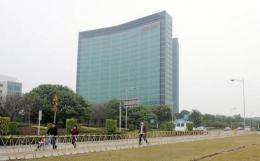 China telecoms giant Huawei's headoffice in Shenzhen
