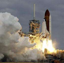 Endeavour soars on 2nd-to-last space shuttle trip (AP)