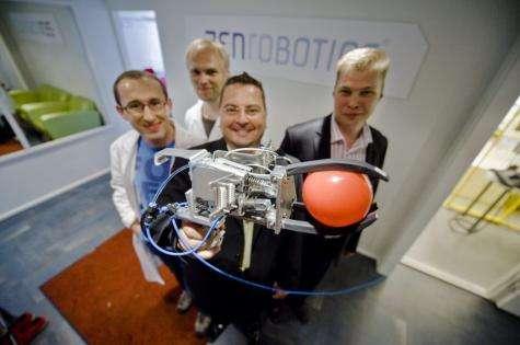 Finnish robotics firm develops trash recycling robot