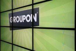 Groupon's shares fall below IPO price in 3 weeks (AP)