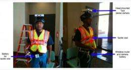 'Guide vests' -- robotic navigation aids for the visually impaired