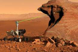 Los Alamos instrument to shine light on Mars habitability
