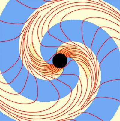 Physicists discover new way to visualize warped space and time