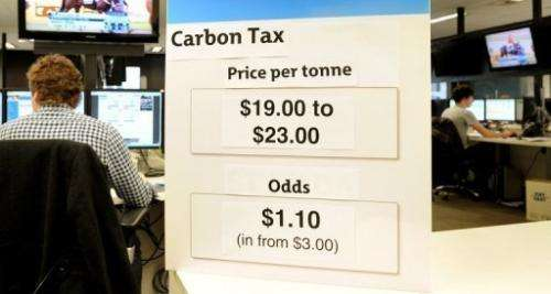 Prime Minister Julia Gillard unveiled the full detail of her deeply contested carbon tax on Sunday