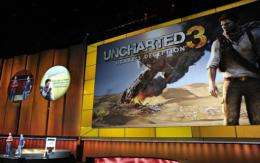 Sony presents the new games for PlayStation 3 during the Electronic Entertainment Expo (E3) in June