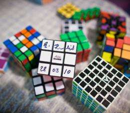 The math of the Rubik's cube