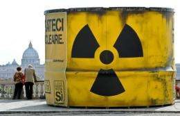 The Royal Society called for a World Nuclear Forum that overcomes separate approaches to nuclear safety