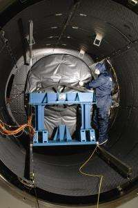Webb Telescope's MIRI flight instrument completes cryogenic testing in the UK