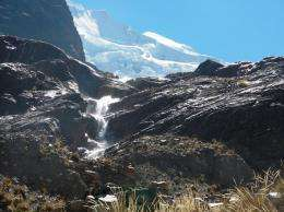 Melting glaciers signal climate change in Bolivia