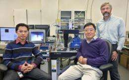 Researchers ink nanostructures with tiny 'soldering iron'