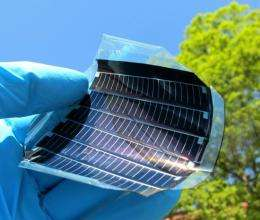 New superstrate material enables flexible, lightweight and efficient thin film solar modules