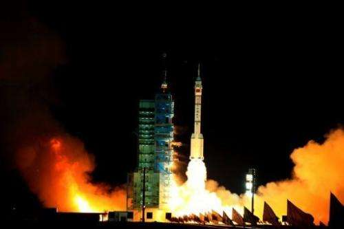 An Australian space tracking station was reportedly used during Tuesday's launch of the Shenzhou VIII mission