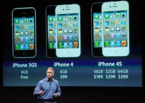 Apple's Senior Vice President of Worldwide product marketing Phil Schiller discusses the new iPhone 4S