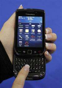 BlackBerry maker tries to soothe angry customers (AP)