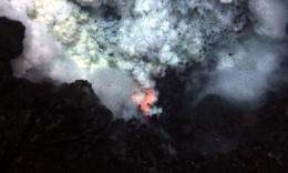 Fiery volcano offers geologic glimpse into land that time forgot