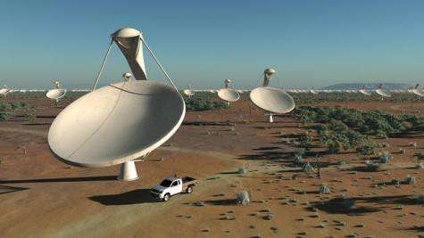 Group sets plans for largest radio telescope ever