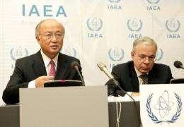 International Atomic Energy Agency (IAEA) Director-General Yukiya Amano