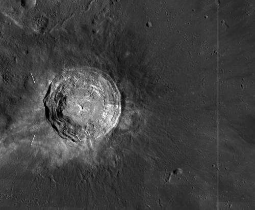 LRO lets you stand on the rim of Aristarchus crater