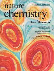Research into energy flow features on the cover of Nature Chemistry