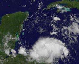 NASA satellites see heavy rains for Central America from Tropical Depression 8