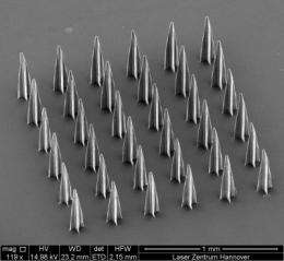 Manufacturing microscale medical devices for faster tissue engineering