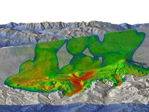 3D-Model mimics volcanic explosions