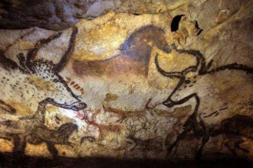 Conservations are battling black spots of a fungus which appeared at Lascaux in 2007