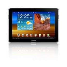 Samsung's Galaxy Tab 10.1N.