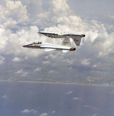 T-38s soar as spaceflight trainers