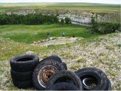 New technologies (and tires) reconstruct ancient bison hunts