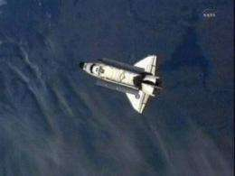 Shuttle Endeavour gone forever from space station (AP)