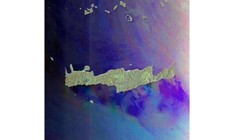 Earth from Space: Aegean islands