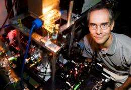 Researchers record two-state dynamics in glassy silicon